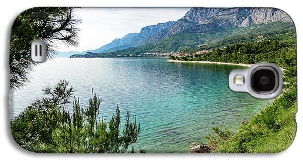 Makarska Riviera White Stone Beach, Dalmatian Coast, Croatia Galaxy S4 Case