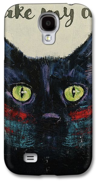 Make My Day Galaxy S4 Case by Michael Creese