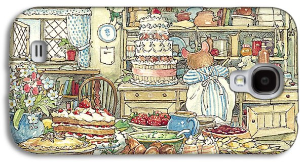Mice Galaxy S4 Case - Making The Wedding Cake by Brambly Hedge