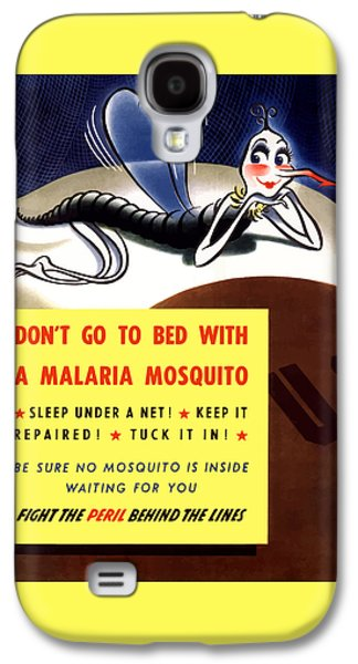 Malaria Mosquito Galaxy S4 Case by War Is Hell Store