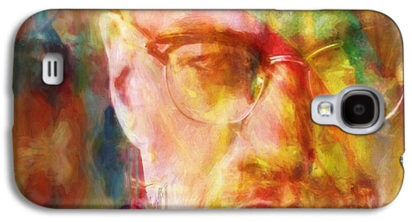 Malcolm X Galaxy S4 Case by Dan Sproul