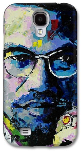 Malcolm X Galaxy S4 Case