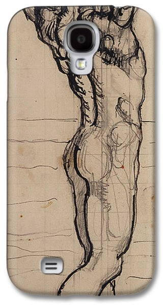 Nudes Galaxy S4 Case - Male Act   Study For The Truth by Ferdninand Hodler