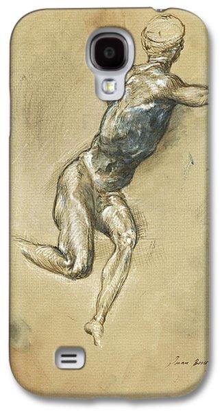 Male Nude Figure Galaxy S4 Case