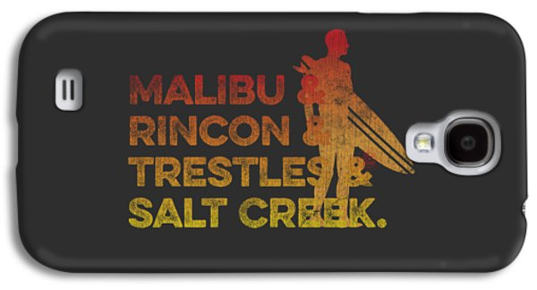 Malibu And Rincon And Trestles And Salt Creek 2 Galaxy S4 Case