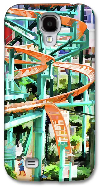 Mall Of America Roller Coasters Galaxy S4 Case