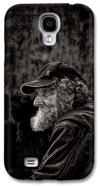 Man With A Beard Galaxy S4 Case