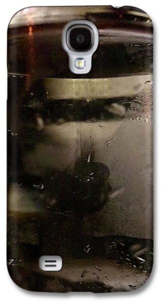 Man With Tray Walking Past Water Bottle Galaxy S4 Case by Anna Villarreal Garbis