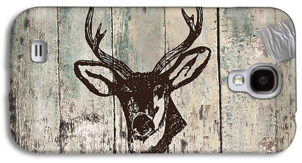 Mancave Deer Rack Galaxy S4 Case by Mindy Sommers