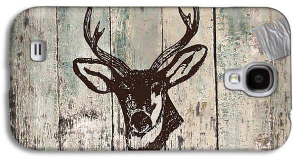 Mancave Deer Rack Galaxy S4 Case