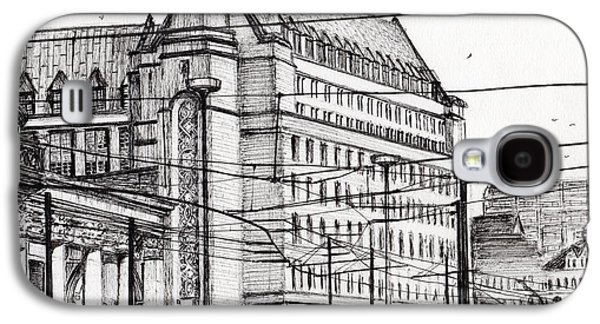 Manchester Town Hall Galaxy S4 Case by Vincent Alexander Booth