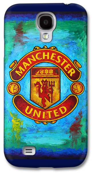 Manchester United Vintage Galaxy S4 Case