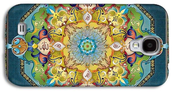 Mandala Arabesque Galaxy S4 Case by Bedros Awak