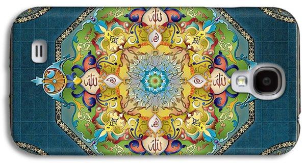 Mandala Arabesque Sp Galaxy S4 Case by Bedros Awak
