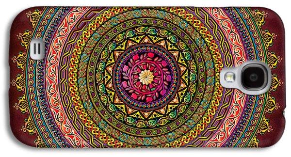 Mandala Armenian Decorative Art - Bordeaux Version Galaxy S4 Case
