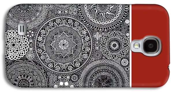 Mandala Bouquet Galaxy S4 Case