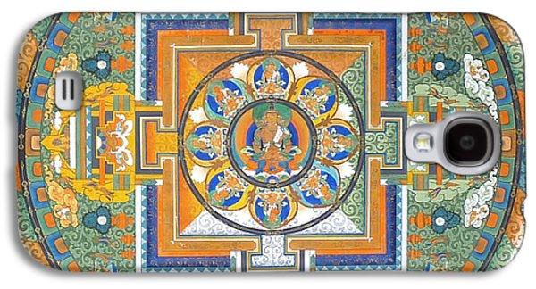 Mandala From Lhasa Galaxy S4 Case