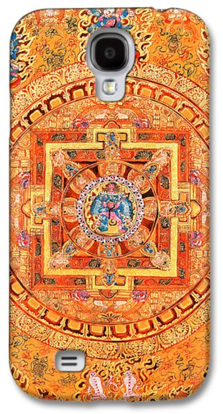Mandala Of Heruka In Yab Yum Galaxy S4 Case by Lanjee Chee