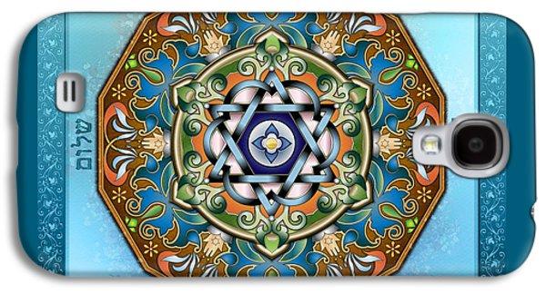 Mandala Shalom Galaxy S4 Case