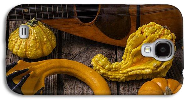 Mandolin And Gourds Galaxy S4 Case