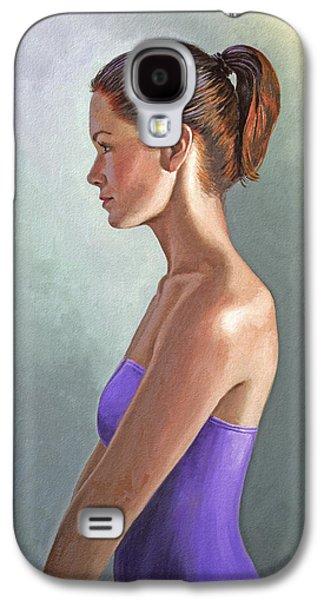 Mandy-profile Galaxy S4 Case by Paul Krapf