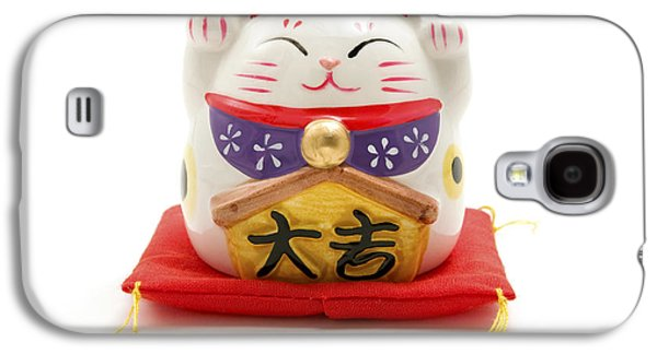 Maneki Neko Galaxy S4 Case by Fabrizio Troiani