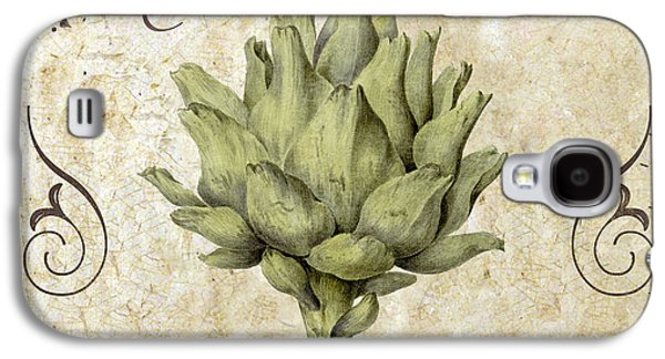 Mangia Carciofo Artichoke Galaxy S4 Case by Mindy Sommers