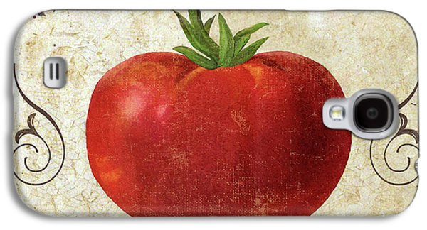 Mangia Tomato Galaxy S4 Case by Mindy Sommers