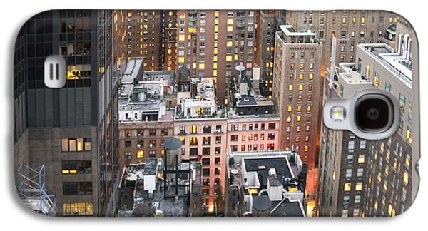 Manhattan At Dusk Galaxy S4 Case