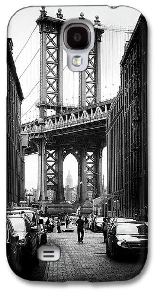 Manhattan Bridge View Galaxy S4 Case by Jessica Jenney