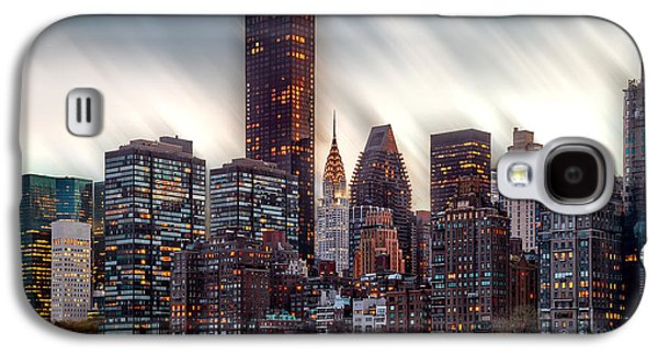 Manhattan Daze Galaxy S4 Case by Az Jackson