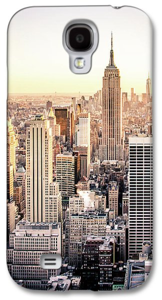 Empire State Building Galaxy S4 Case - Manhattan by Michael Weber
