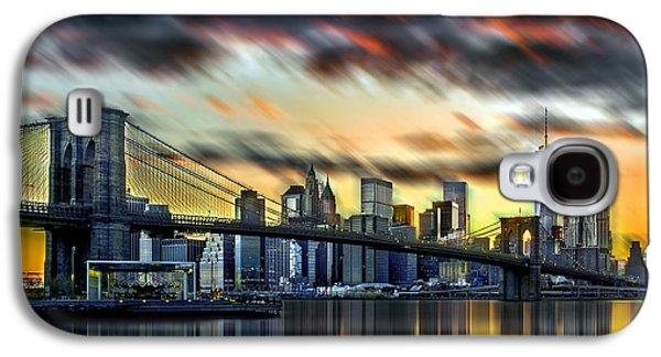 Manhattan Passion Galaxy S4 Case by Az Jackson