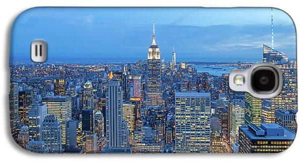 Empire State Building Galaxy S4 Case - Manhattan Skyline New York City by Az Jackson