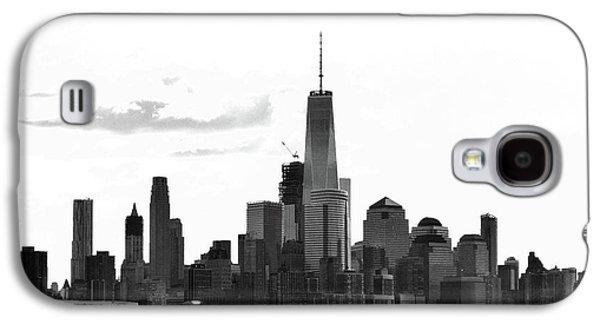 Manhattan Skyline No. 17-2 Galaxy S4 Case by Sandy Taylor