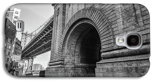 Manhatten Bridge New York Galaxy S4 Case by Mike Burgquist