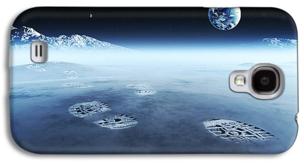Mankind Exploring Space Galaxy S4 Case