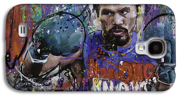 Manny Pacquiao Galaxy S4 Case by Richard Day
