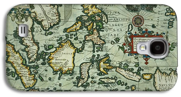 Map Of The East Indies Galaxy S4 Case