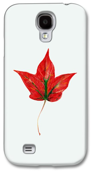 Maple Leaf Galaxy S4 Case by Anastasiya Malakhova