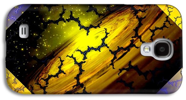 Mapping Interfractal Space Galaxy S4 Case by Elizabeth McTaggart