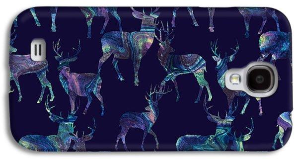 Marble Deer Galaxy S4 Case by Varpu Kronholm