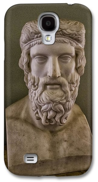Marble Head Galaxy S4 Case by Martin Newman