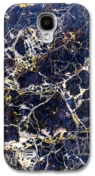 Marble Stone Texture Wall Tile Galaxy S4 Case by John Williams