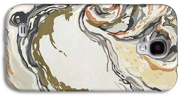 Marbled Pattern Galaxy S4 Case by Georges Barbier