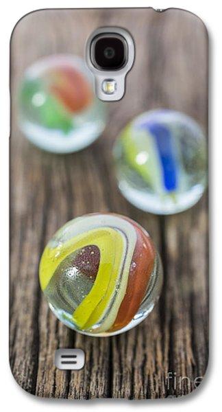 Marbles Galaxy S4 Case by Edward Fielding