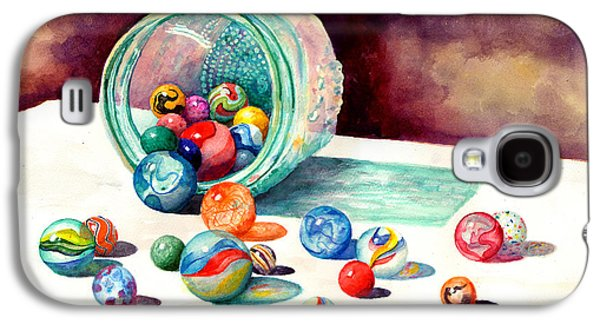 Marbles Galaxy S4 Case by Sam Sidders