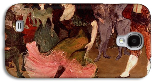 Marcelle Lender Dancing The Bolero In Chilperic Galaxy S4 Case by Henri de Toulouse Lautrec