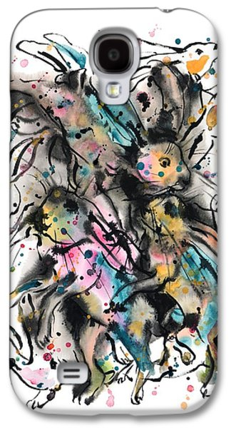 March Hares Galaxy S4 Case by Zaira Dzhaubaeva