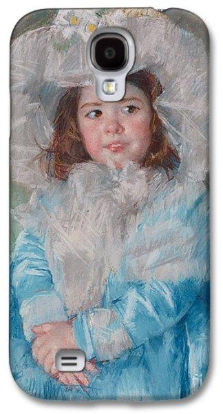 Margot Lefebre In Blue Galaxy S4 Case